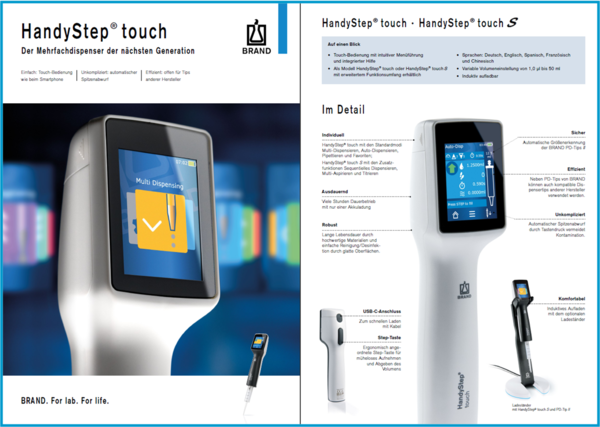 Flyer HandyStep® touch / touch S