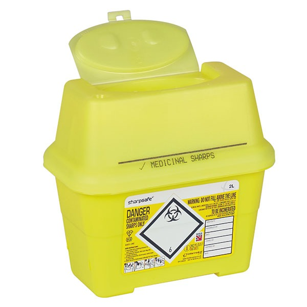 Sharpsafe® Abfallcontainer (ab 2 Liter)